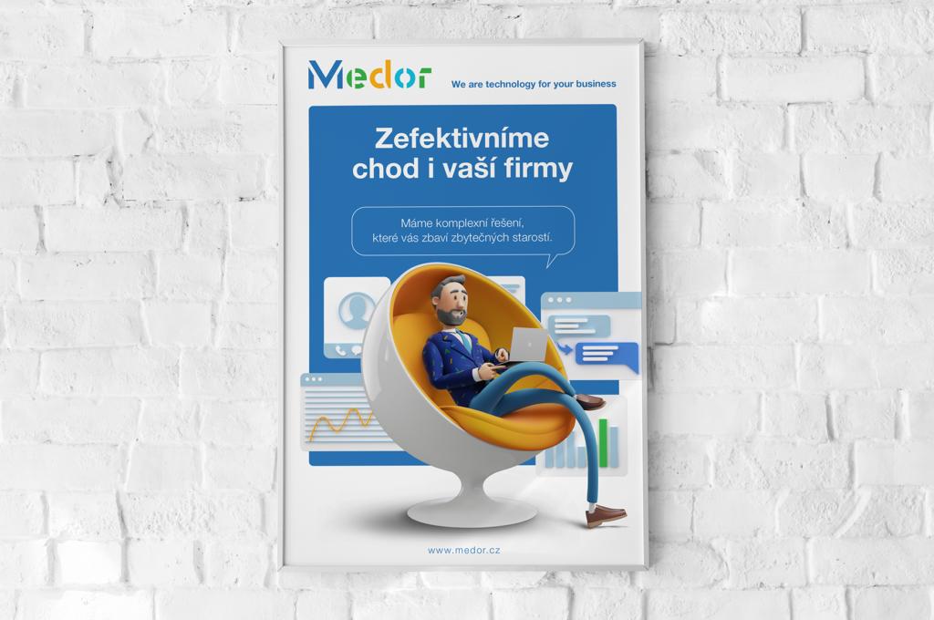 Jeden z prvních klíčových vizuálů, který jsme připravili pro český trh.